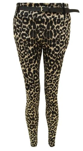 NEW LADIES LEOPARD ANIMAL PRINT LEGGINGS WOMENS