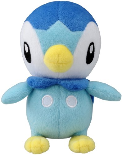 Takaratomy Pokemon Best Wishes Plush Doll - Pochama/Piplup
