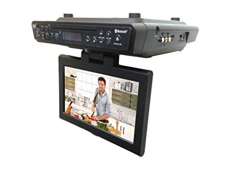 Kitchen Dvd Player ~ Sylvania skcr bt quot under cabinet kitchen tv with