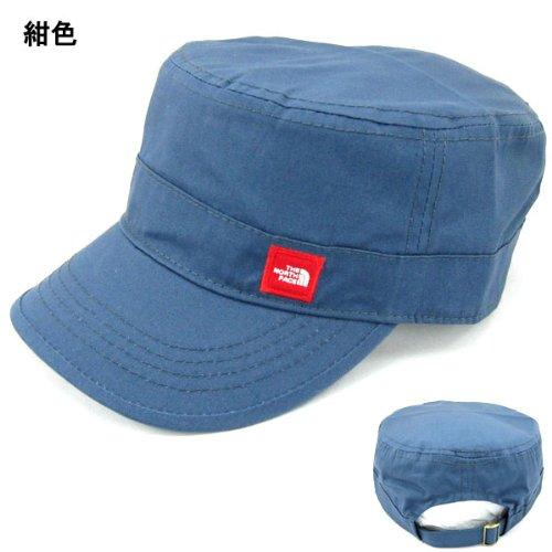 ノースフェイス ワークキャップ TNF THE NORTH FACE ワッペン Work Cap 6201 紺 紺色 コットン