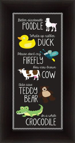 Nursery Rhymes I What'S Up Rubber Duck Please Don'T Cry Firefly 10.5X20.5 Framed Art Print Picture front-931910