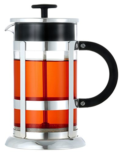 GROSCHE CHROME French Press Coffee and Tea Maker 8 cup 1000 ml 34 oz