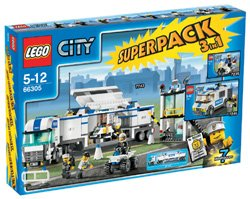 LEGO City 66305 Polizei Superpack 7743 / 7245 / 7235