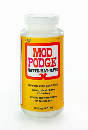 Amazon.com: Mod Podge CS11302 Original 16-Ounce Glue, Matte Finish: Arts, Crafts & Sewing