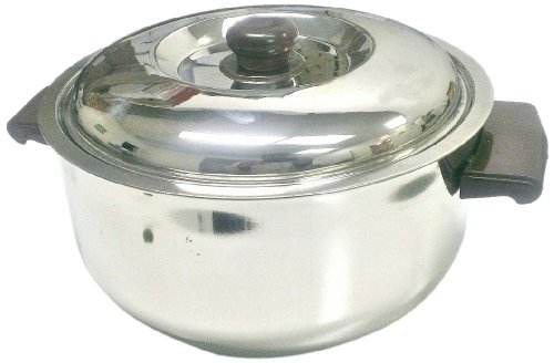 Ckitze 3500 Ml Stainless Steel Insulated Hot Casserole, Large front-146701