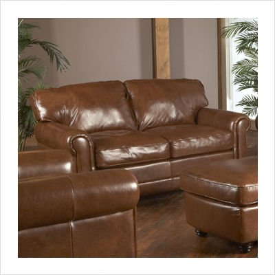 Picture of Luke Leather Andrew Italian Leather Loveseat (ANDREW-L) (Sofas & Loveseats)