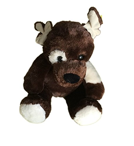 Build a Bear Brown Dog with White Patches - 1
