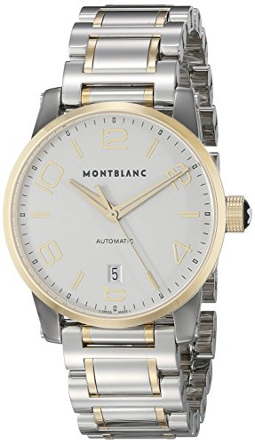 Montblanc-Timewalker-Date-Automatic-Mens-Steel-Yellow-Gold-Swiss-Watch-106502
