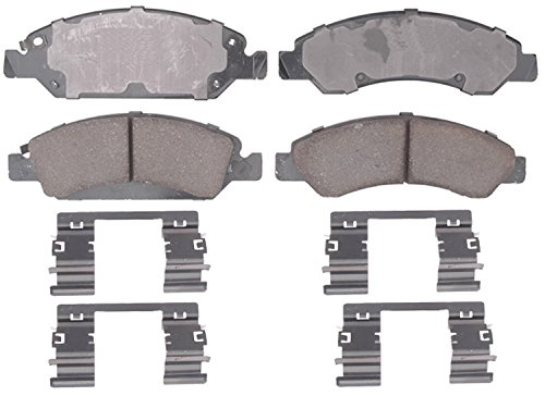ACDelco 17D1363CH Professional Durastop Ceramic Front Disc Brake Pad Set