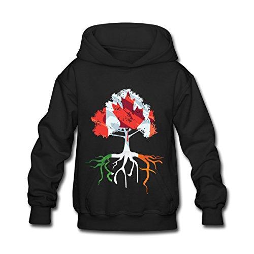 canada-irish-roots-irish-celtic-apparel-kids-hoodie-by-spreadshirt-l-black