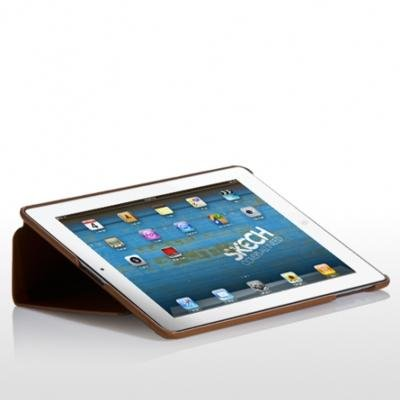 SKECH Custom Jacket Case for iPad 2 (Tan)