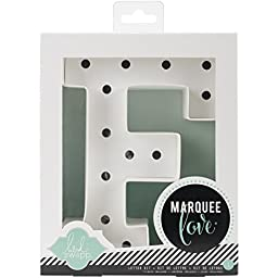 Heidi Swapp Marquee Love Letters, Numbers & Shapes 8.5\