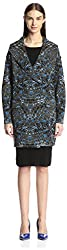 M Missoni Women's Coat, Blue, M