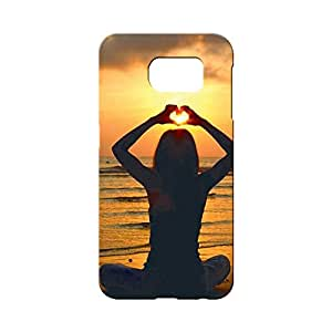 BLUEDIO Designer 3D Printed Back case cover for Samsung Galaxy S6 - G4102