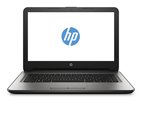 HP 14-am018nl Notebook, Processore Intel Celeron N3060, Memoria 4 GB di SDRAM DDR3L-1600, Scheda Grafica Intel HD 400, Argento