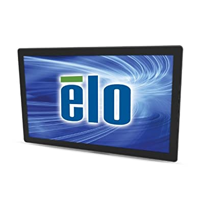 Elo E000414 Open-Frame Touchmonitors 2440L IntelliTouch Zero-Bezel 24'' 1080p Full HD LCD Monitor, Black