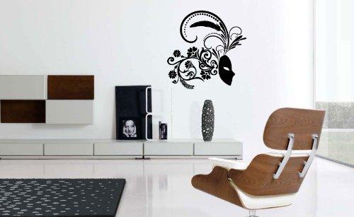 Venetian Mask - Vinyl Wall Art Decal Stickers Decor Graphics