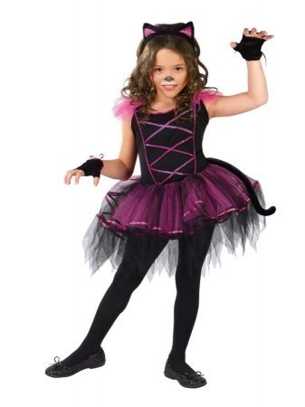 Morris Costumes Halloween Kitty Party Catarina Child Costume 8-10