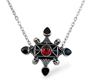 Lucrezias Poison Locket Alchemy Gothic Necklace
