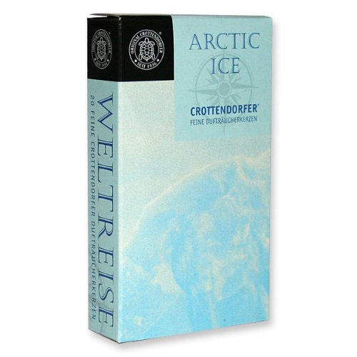 Räucherkerzen WELTREISE -Arctic Ice-Fumigating candle VOYAGE ROUND THE WORLD -Arctic Ice-