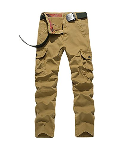 YiJee-Homme-Cargo-Pantalons-Loisir-Travail-Multi-Poches-Vintage-Style-Combat-Pants