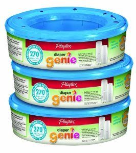 Playtex Diaper Genie Refill 270 Count (Pack Of 6) front-965160