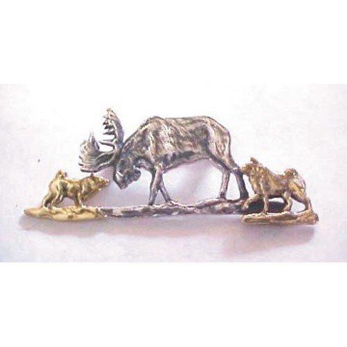 Norwegian Elkhound Breed Origin Pin