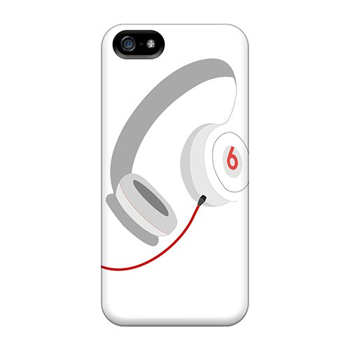 High Impact Dirt/Shock Proof Case Cover For Iphone 5/5S (Beats Headphones)