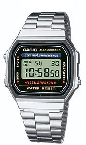 Casio A168W - Reloj Unisex Negro/Plata de Casio