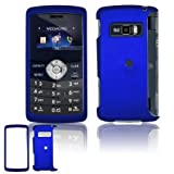 Blue Rubberized Snap-On Cover Hard Case Cell Phone Protector for LG enV3 VX ....