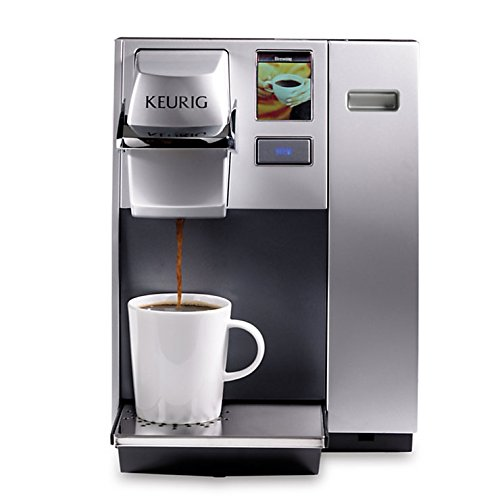 commercial keurig machine with water line