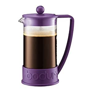 Bodum New Brazil 8-Cup French Press Coffee Maker, Purple
