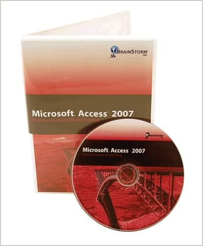 Microsoft Access 2007 Computer Based Training DVD Rom - Learn MS Access with 6 Hours of Lessons on CD That Are Well Organized From Basic to Advanced Features. Over 225 Access Features Explained By an Experienced MS Office Instructor: Brush up on Your Computer Software Skills with CBT Data Base / dBase / Database Training