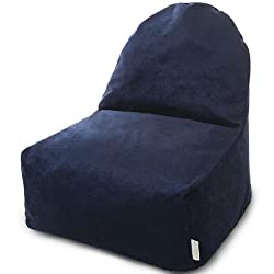 Majestic Home Goods Villa Navy Kick-It Chair