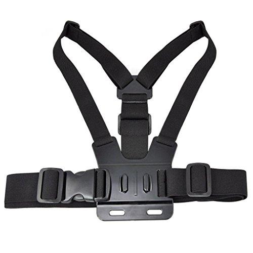 SAVFY® Brustgurt Halterung verstellbar Chest Strap Mount für GoPro Hero 1 2 3 3  INKL. 2x JHookAdapter Picture