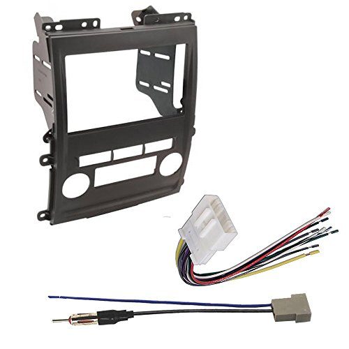 CAR RADIO STEREO CD PLAYER DASH INSTALL MOUNTING KIT HARNESS NISSAN SUZUKI 2009 -2012 (2012 Nissan Frontier Dash compare prices)