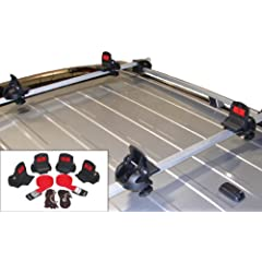 Buy Malone Big Foot Pro Universal Car Rack Canoe Carrier with Bow and Stern Lines by Malone