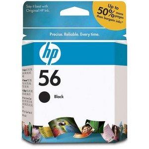 HP 56 BLACK INKJET CARTRIDGE NAM (Computer / Printer Ink & Toner)