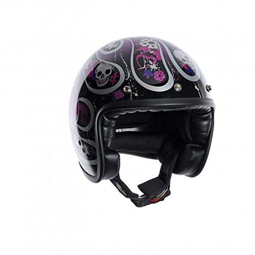 AGV - Casco per Moto, Multicolore(Skully), M