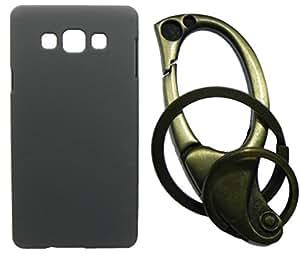 XUWAP Hard Case Cover With Matallic KeyChain For Samsung Galaxy Z3 - Black