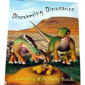 Discovering Dinosaurs - Coloring & Activity Book