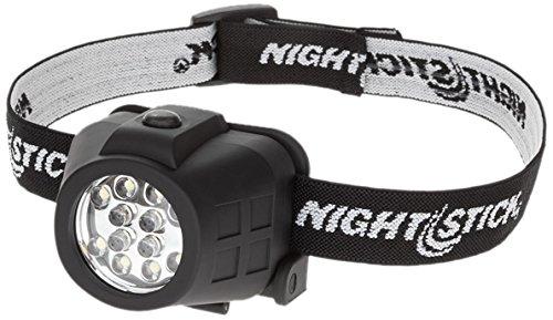 Nightstick NSP-4602B Dual-Light Headlamp, Black