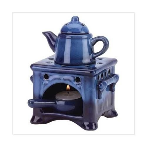 Country Kitchen Ceramic Kettle Stove Oven Oil Warmer New (Oven Oil Warmer compare prices)