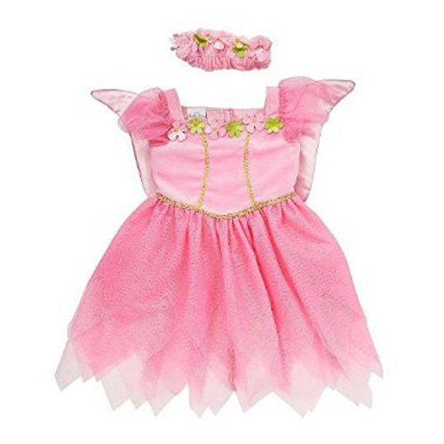 Koala Kids Toddler Girls Pink Fairy Princess Costume with Butterfly Wings