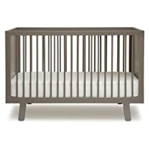 Hot Sale Oeuf Sparrow Crib, Grey