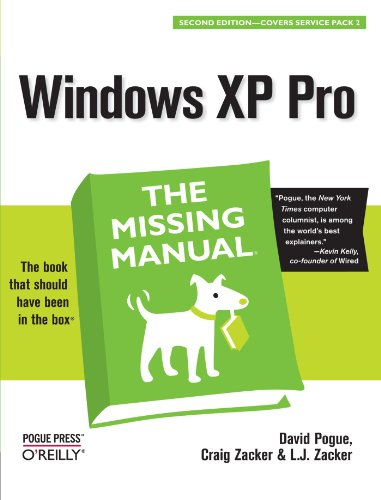 Windows XP Pro: The Missing Manual