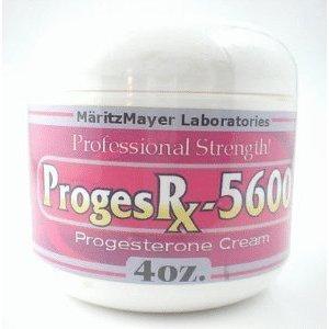 Proges Rx 5600 Progesrx Cream 4 Oz Pms Menopuase