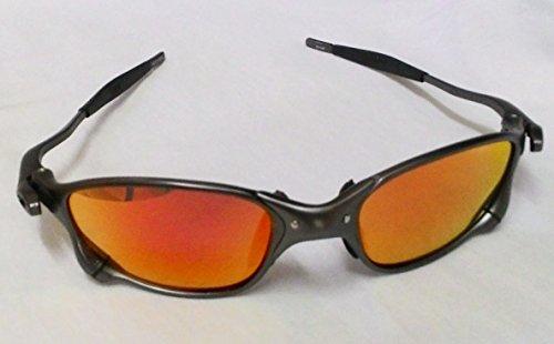 blue frame oakley sunglasses  frame & blue revo lens