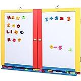 2in1 schreibtafel magnettafel magnete kreide halter - Kindertafel wand ...