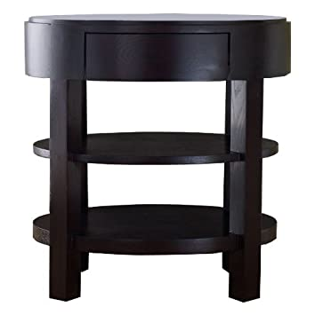 Abbyson Living Adam's Morgan Ellipse End Table